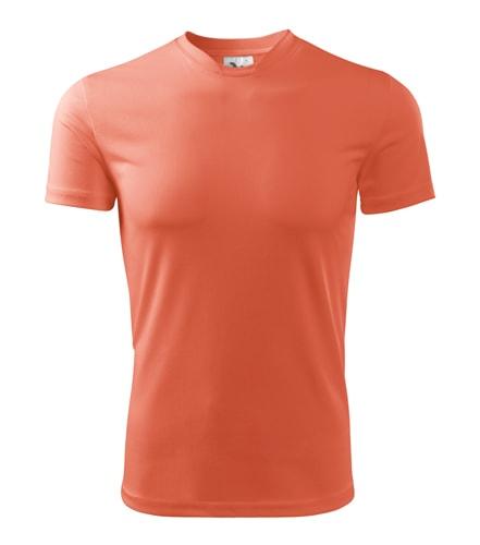 Adler Detské tričko Fantasy - Neonově oranžová   134 cm (8 let)