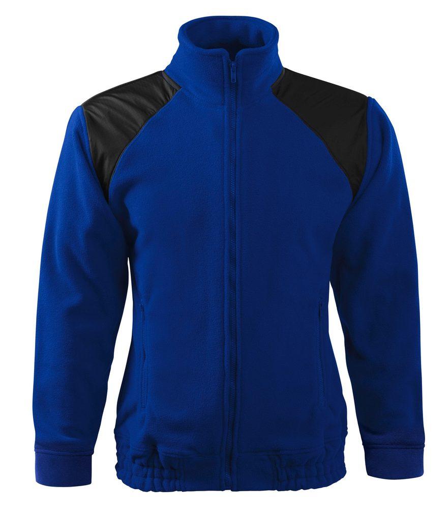 Adler (MALFINI) Fleecová mikina Jacket Hi-Q - Královská modrá   M