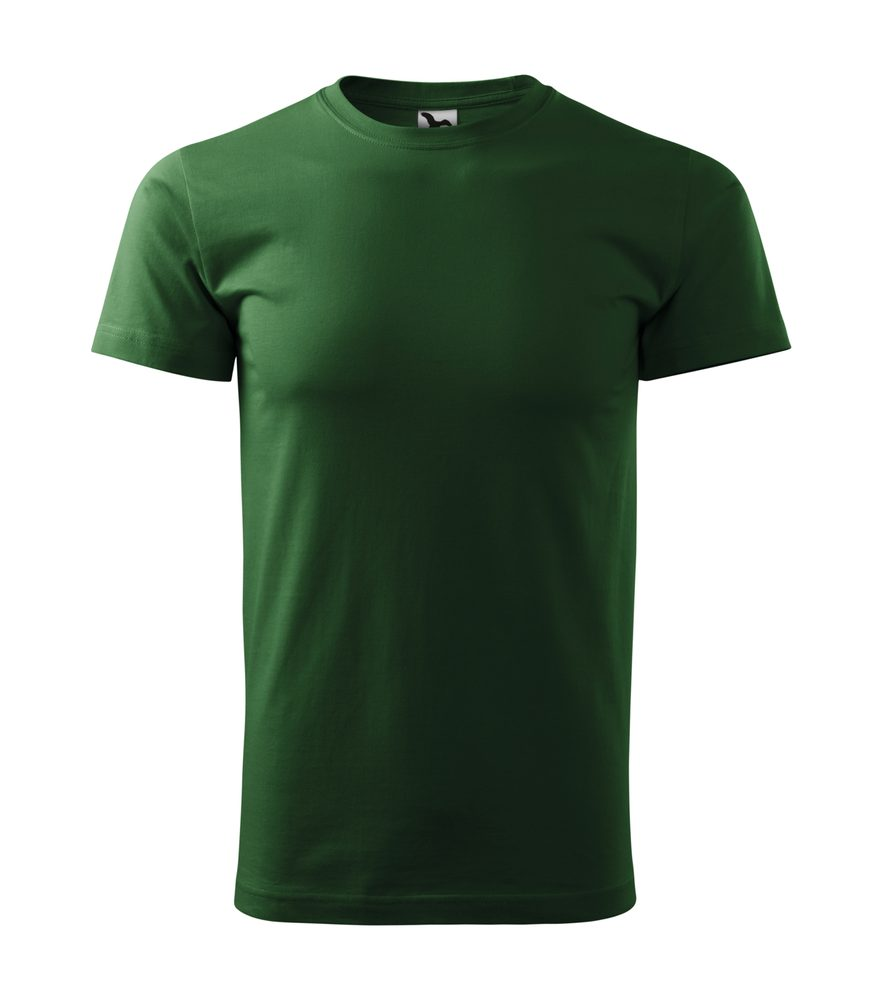 Adler Pánske tričko Basic - Lahvově zelená | XXXL