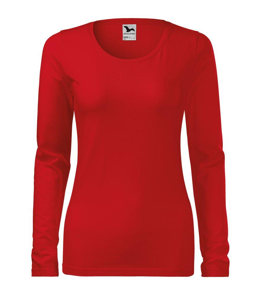 Adler Dámske tričko s dlhým rukávom Slim - Červená | XS