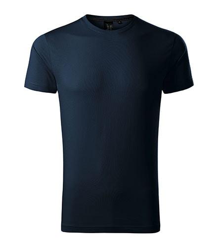 Adler Pánske tričko Malfini Exclusive - Námořní modrá | XL