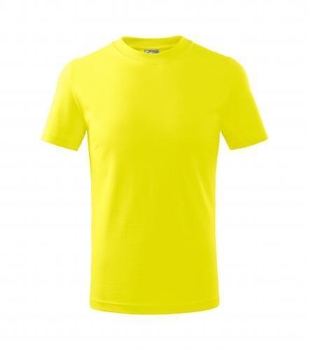 Adler Detské tričko Basic - Citrónová | 146 cm (10 let)