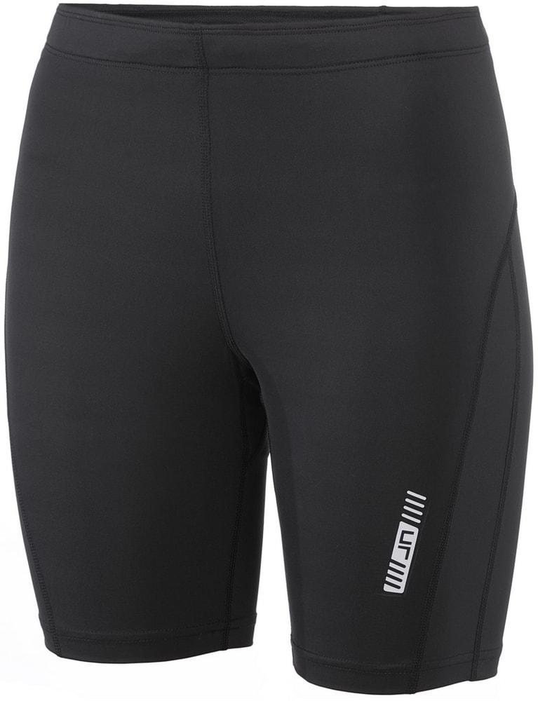 James & Nicholson Dámské běžecké šortky JN477 - Černá / černá | M