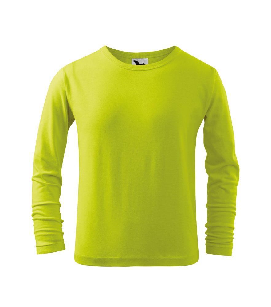 Adler Detské tričko s dlhým rukávom Long Sleeve - Limetková   110 cm (4 roky)
