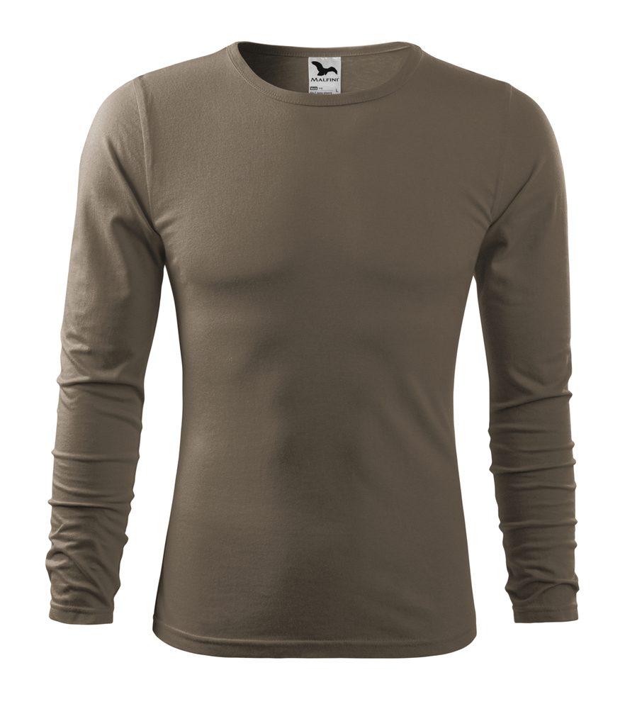 Adler Pánske tričko s dlhým rukávom Fit-T Long Sleeve - Army   M