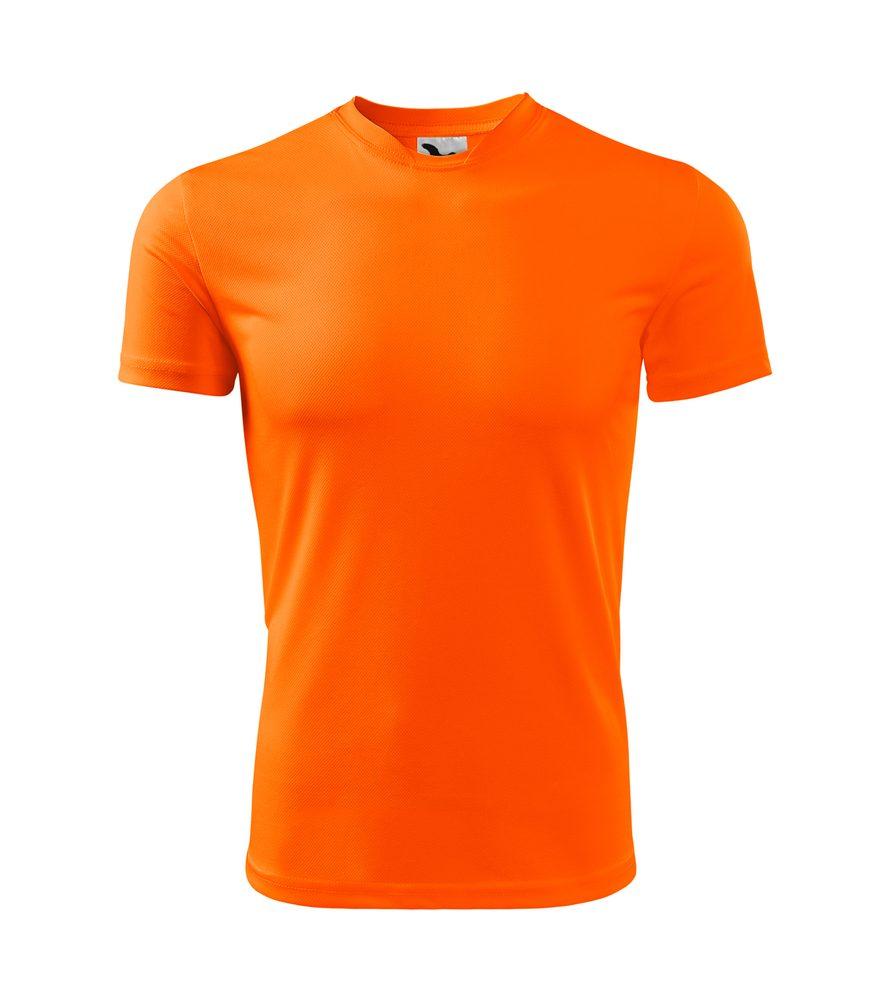 Adler Detské tričko Fantasy - Neonově oranžová | 146 cm (10 let)