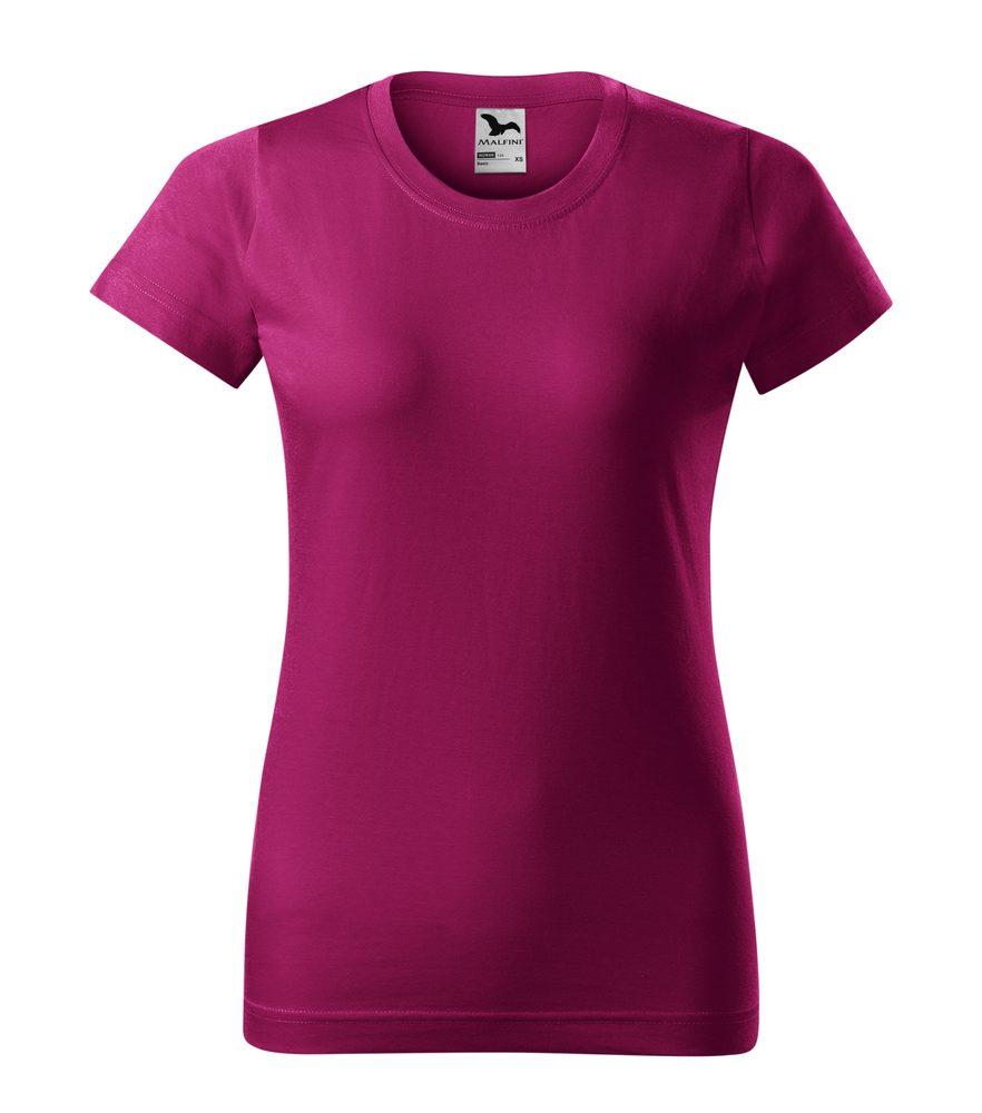 Adler Dámske tričko Basic - Světle fuchsiová | M