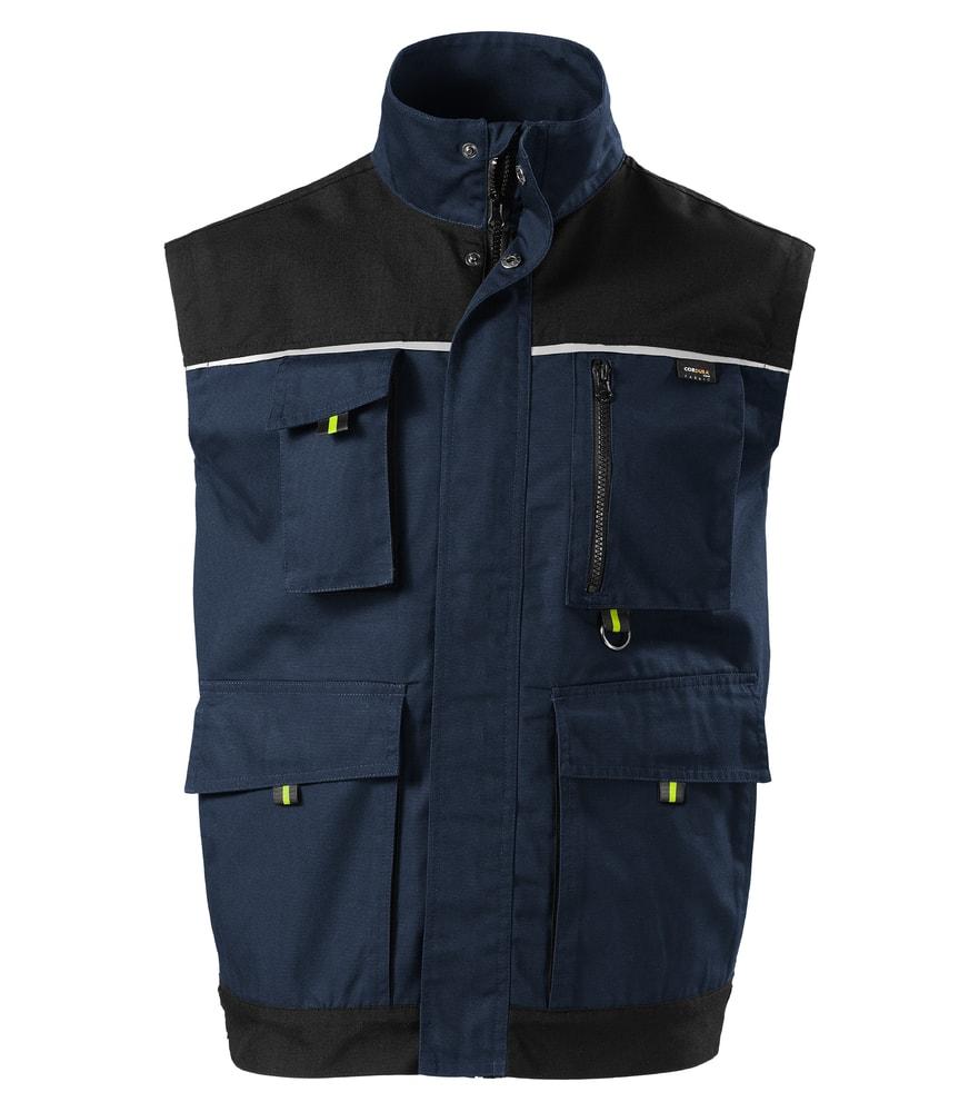 Adler Pracovná vesta Ranger - Námořní modrá | S