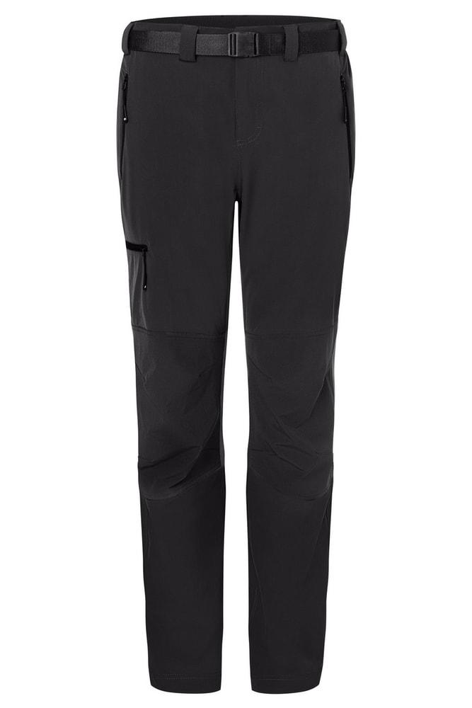 James & Nicholson Pánské trekingové kalhoty JN1206 - Černá / černá | M