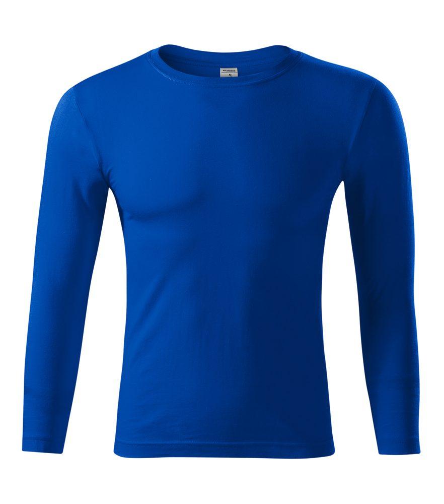 Adler (MALFINI) Tričko s dlhým rukávom Progress LS - Královská modrá   S