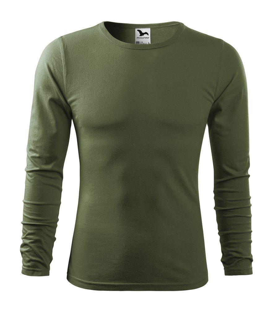 Adler Pánske tričko s dlhým rukávom Fit-T Long Sleeve - Khaki | L