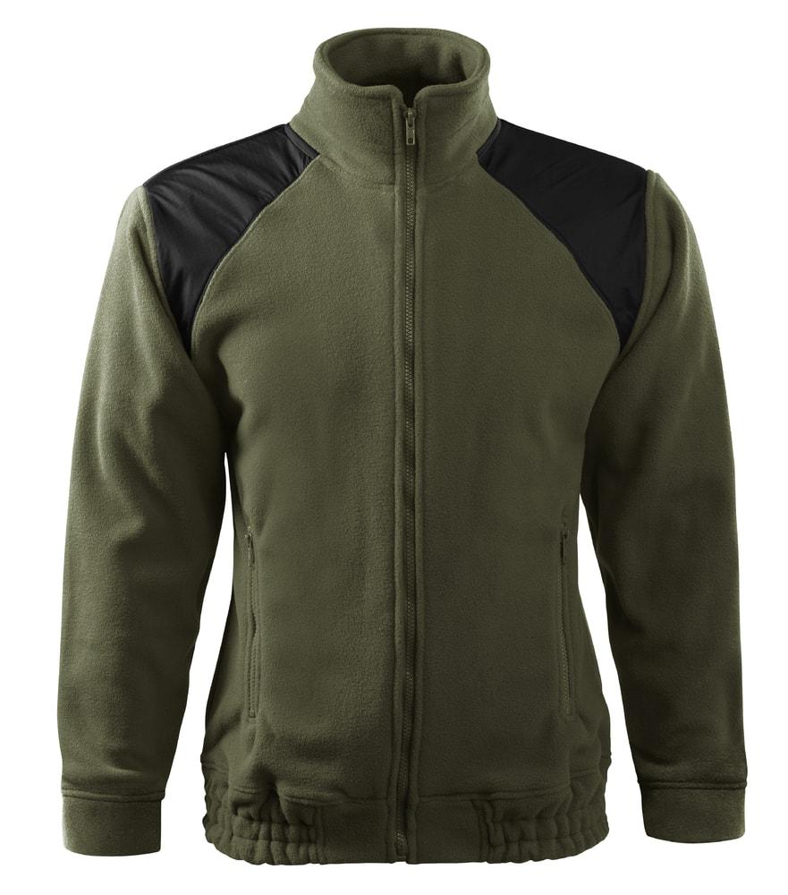 Adler Fleecová mikina Jacket Hi-Q - Military | S