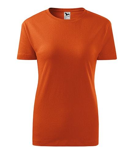 Adler Dámske tričko Classic New - Oranžová | M