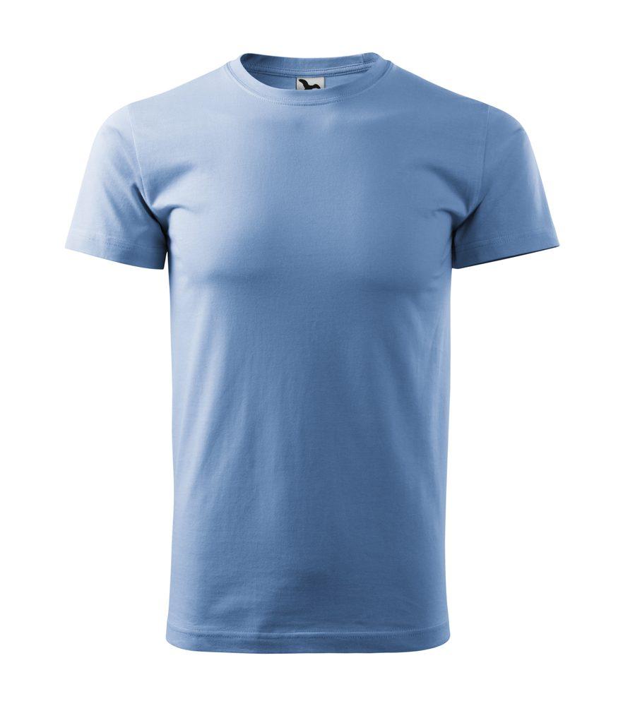 Adler Pánske tričko Basic - Nebesky modrá | XXXL