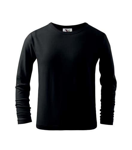 Adler Detské tričko s dlhým rukávom Long Sleeve - Černá   158 cm (12 let)