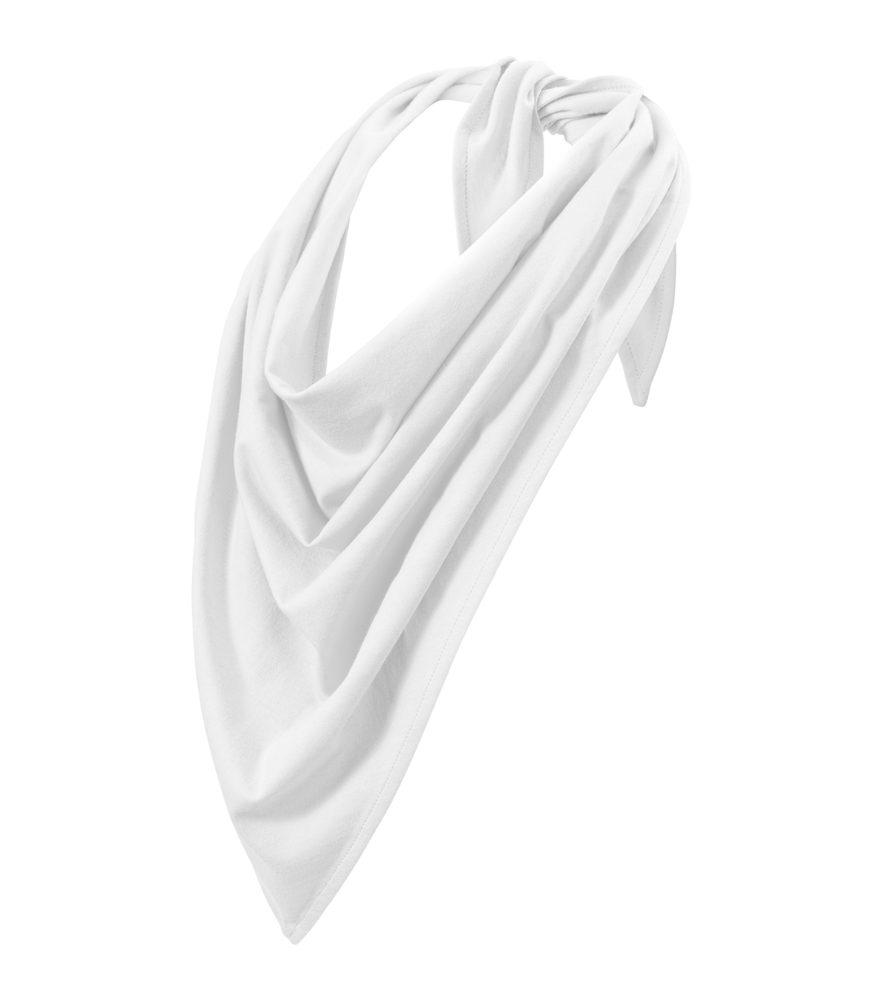 Adler (MALFINI) Šátek Fancy - Bílá | uni