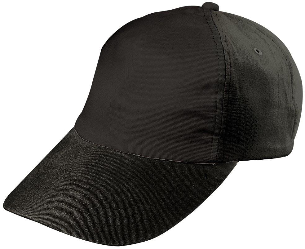 Dětská 5P kšiltovka MB7010 - Černá