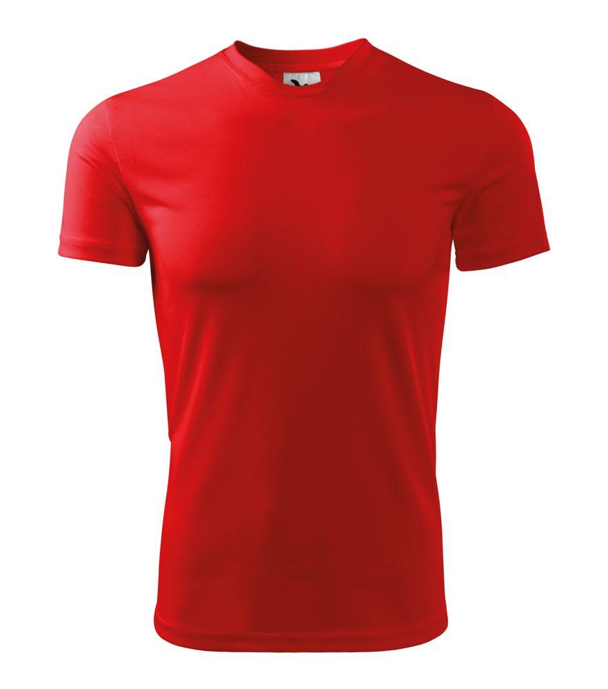 Adler Pánské tričko Fantasy - Červená | S