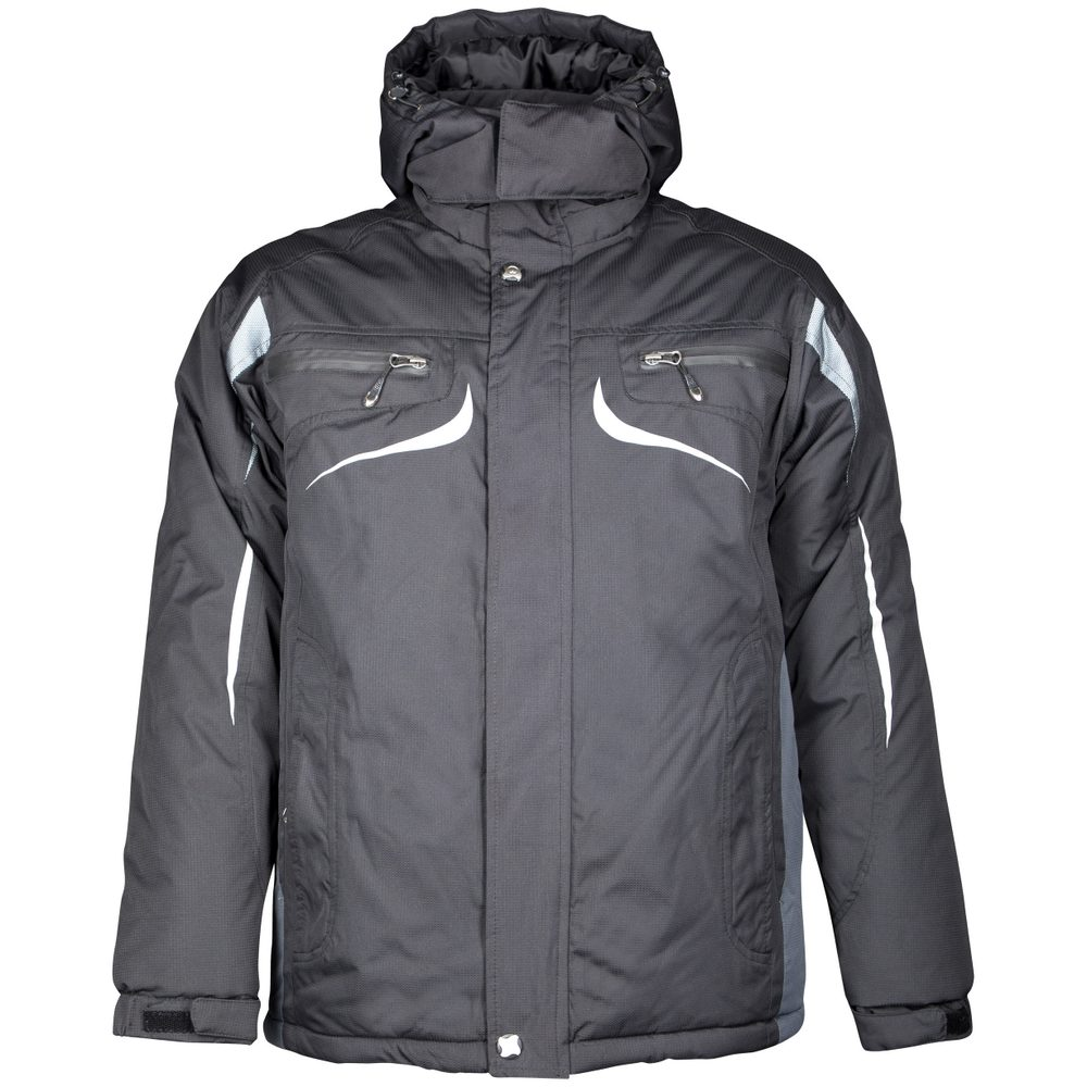 Ardon Pánska zimná bunda Philip - Černá / šedá | XXXL