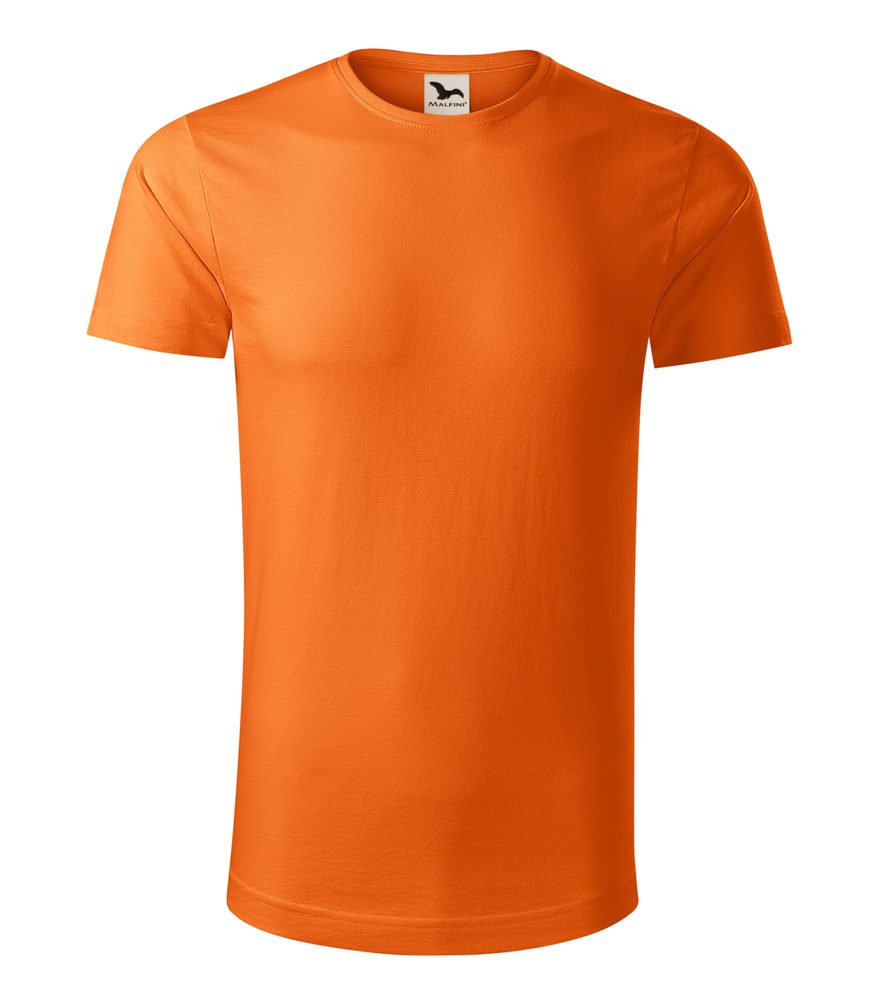 Adler (MALFINI) Pánske tričko Origin - Oranžová | L