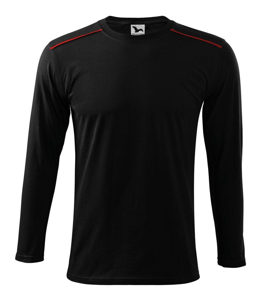 Adler (MALFINI) Tričko s dlouhým rukávem Long Sleeve - Černá | L