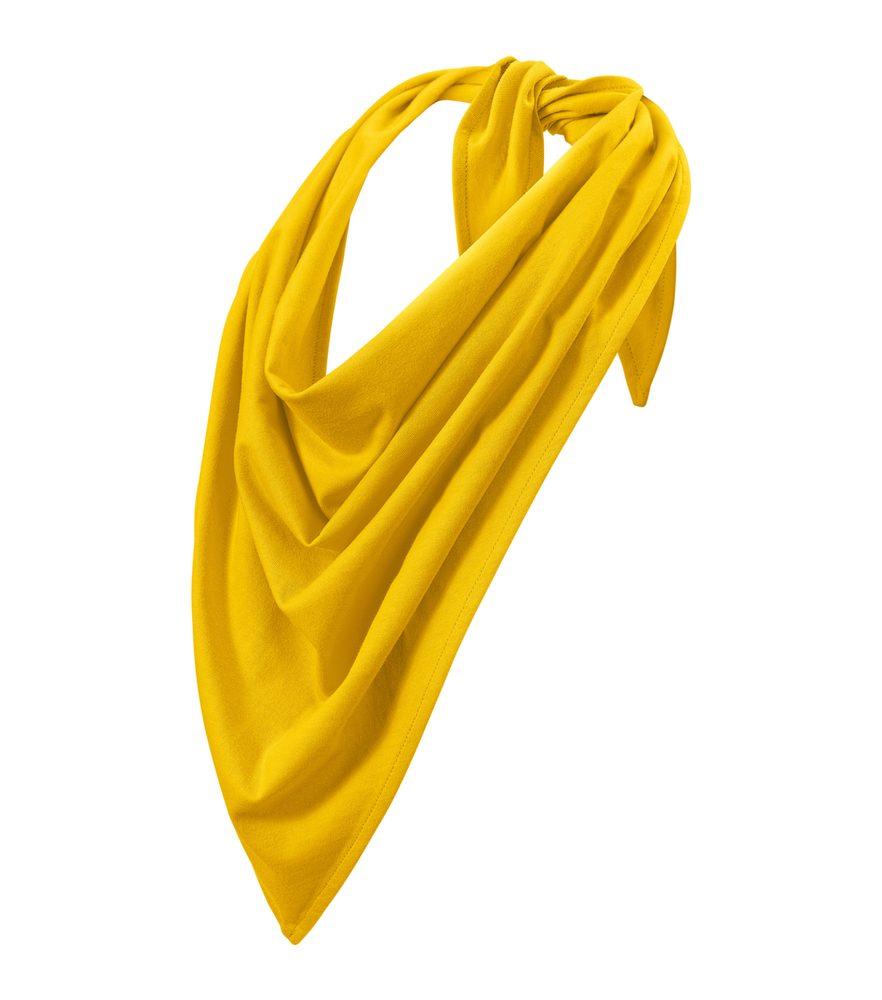 Adler (MALFINI) Šátek Fancy - Žlutá | uni