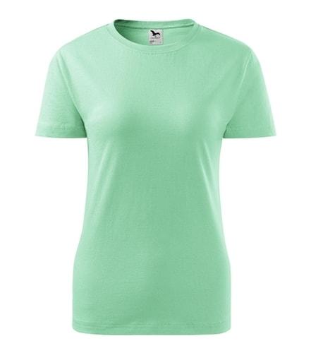 Adler Dámske tričko Basic - Mátová | L