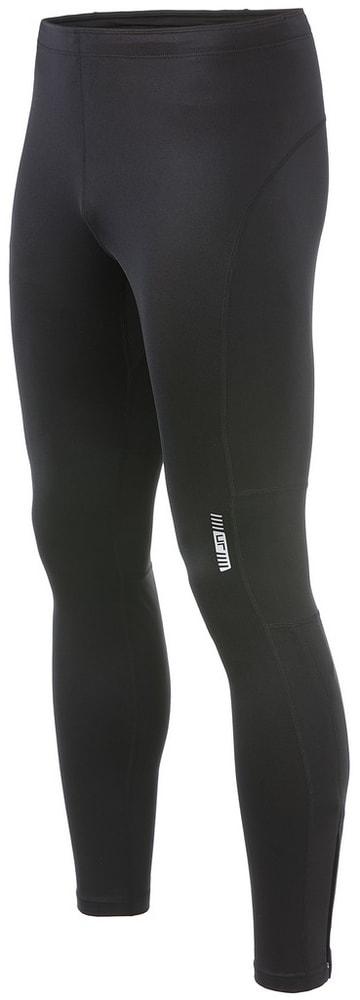 James & Nicholson Pánské běžecké elasťáky JN480 - Černá / černá | M