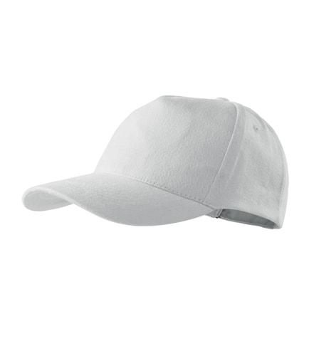 Kšiltovka 5P - Bílá | uni