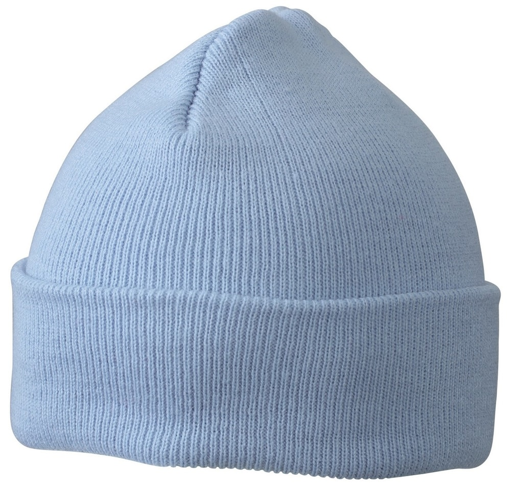 Myrtle Beach Pletená zimná detská čiapka MB7501 - Světle modrá | uni dětská