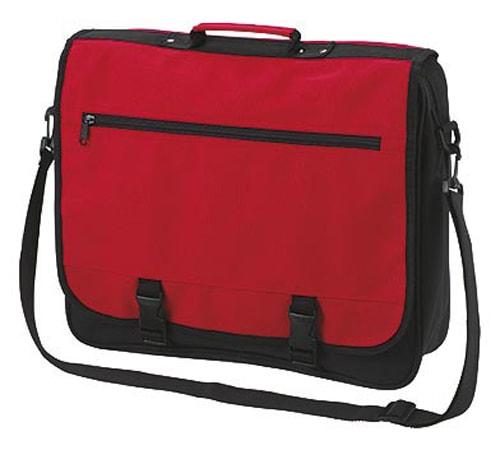 Halfar Veľká taška cez rameno BUSINESS - Červená