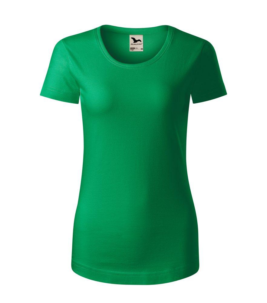 Adler (MALFINI) Dámske tričko Origin - Středně zelená | XXL