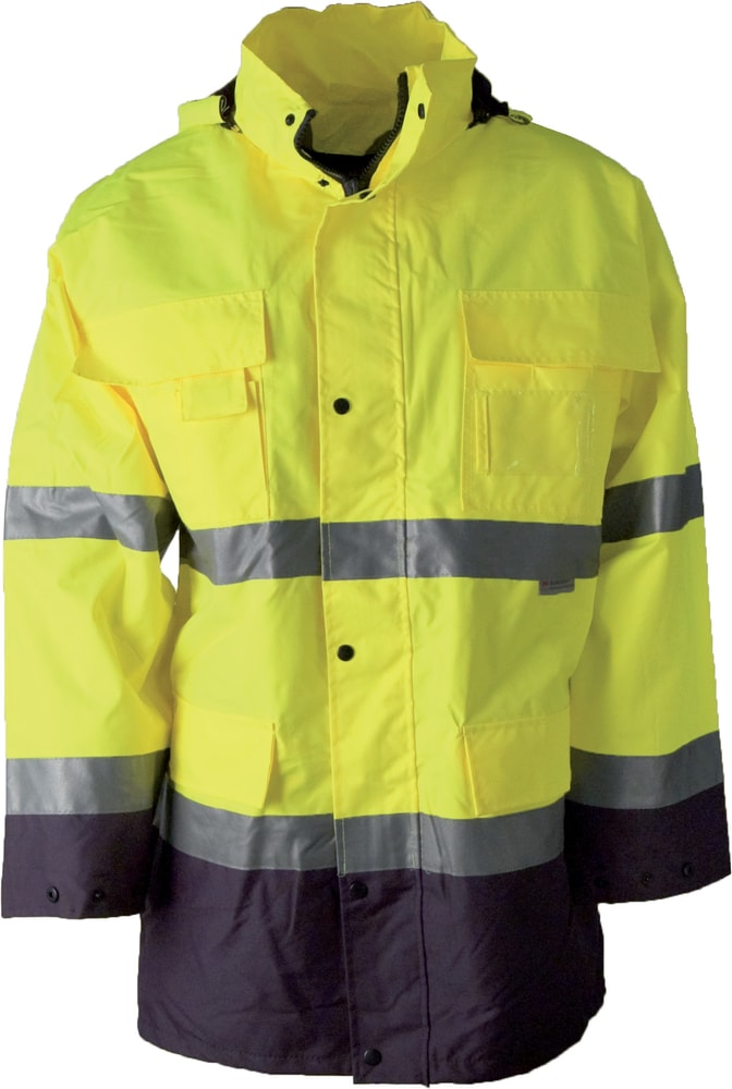 Ardon Reflexná pracovná bunda s kapucňou Maxwell - Žlutá | XXL