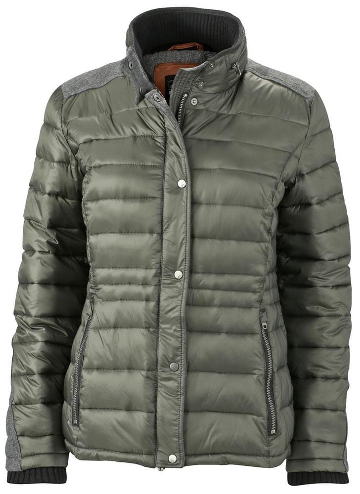 James & Nicholson Dámska zimná bunda JN1099 - Borovicově zelená | L