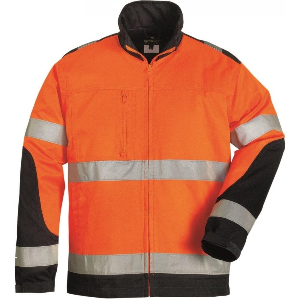 Ardon Reflexná bunda s golierom Patrol - Oranžová | XXL