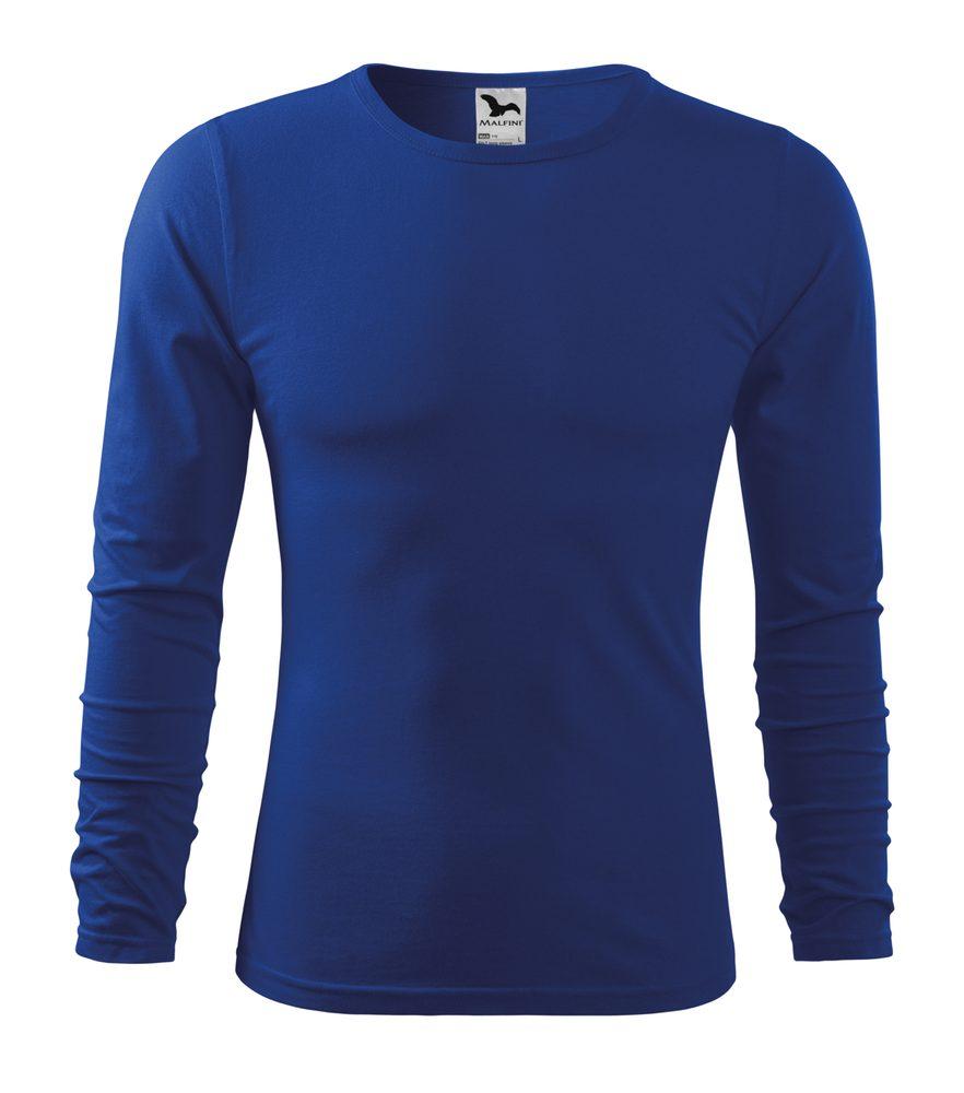 Adler Pánske tričko s dlhým rukávom Fit-T Long Sleeve - Královská modrá | L