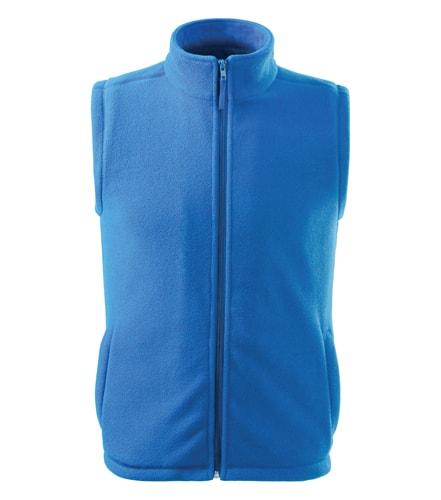 Adler Fleecová vesta Next - Azurově modrá | S
