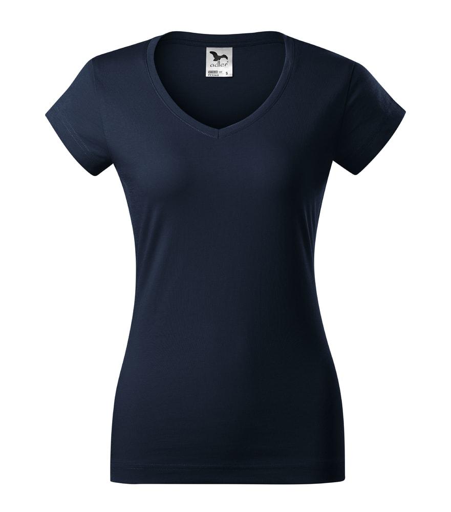 Adler Dámske tričko Fit V-neck - Námořní modrá | XL