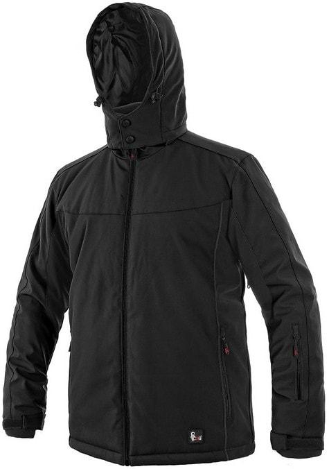 Canis VEGAS bunda, zimná, pánska - Černá | XXXL