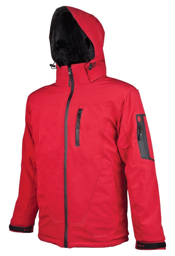 Ardon Zimná pánska softshellová bunda Spirit Winter - Červená | XL