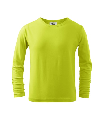 Adler Detské tričko s dlhým rukávom Long Sleeve - Limetková   158 cm (12 let)