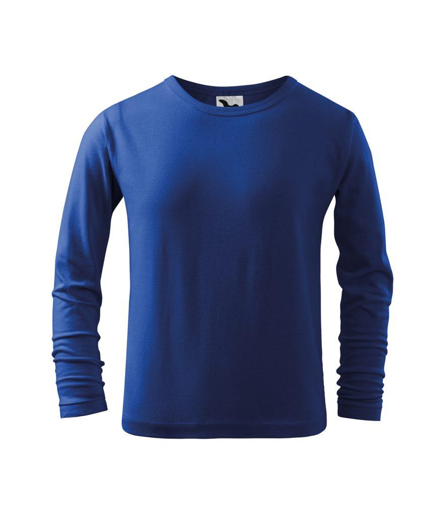 Adler Detské tričko s dlhým rukávom Long Sleeve - Královská modrá   110 cm (4 roky)
