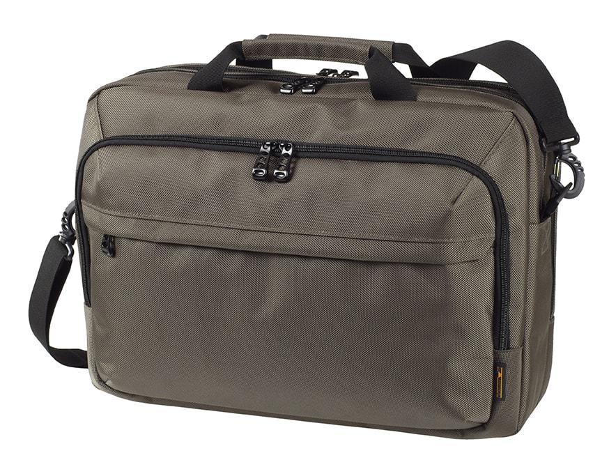 Halfar Business taška na notebook MISSION - Tmavě šedá