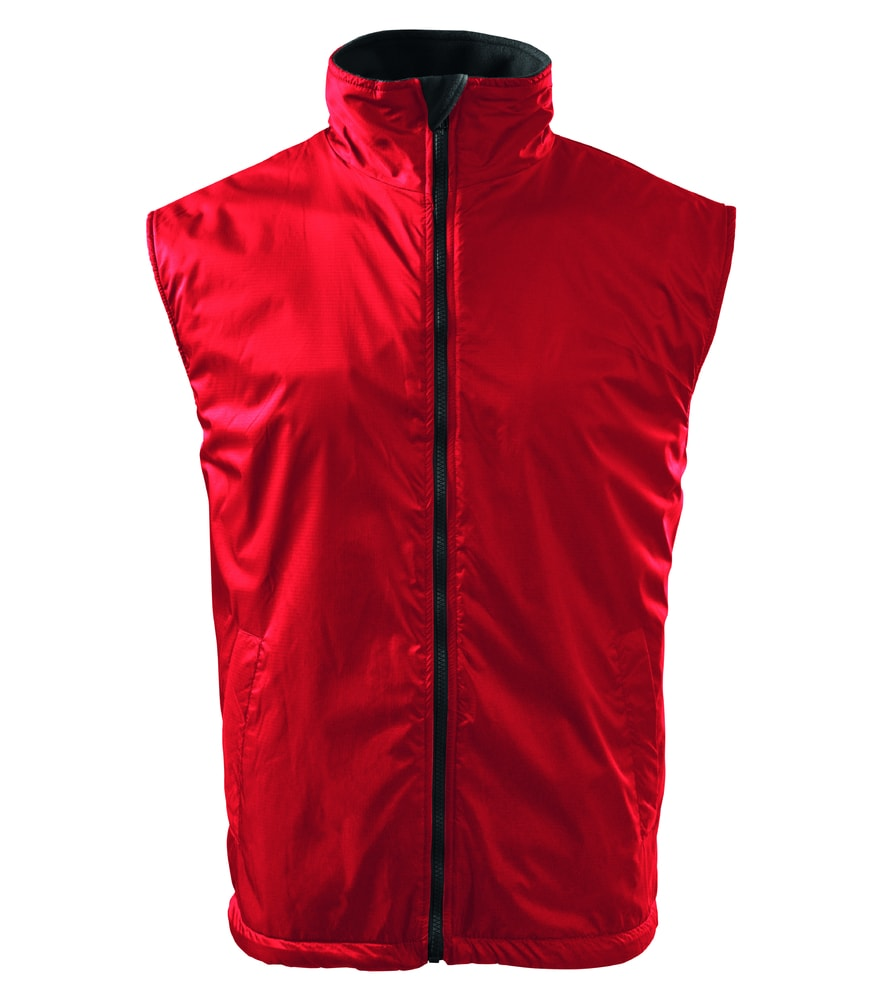 Adler Pánska vesta Body Warmer - Červená | L