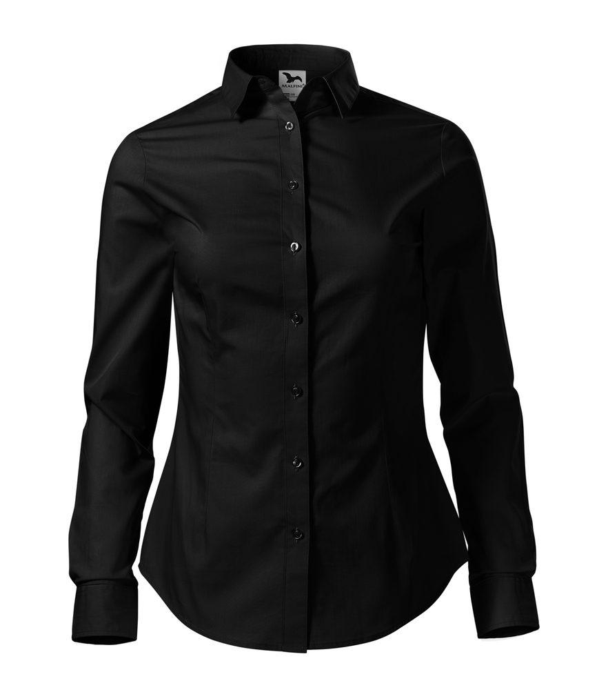 Adler Dámska košeľa s dlhým rukávom Style - Černá | S