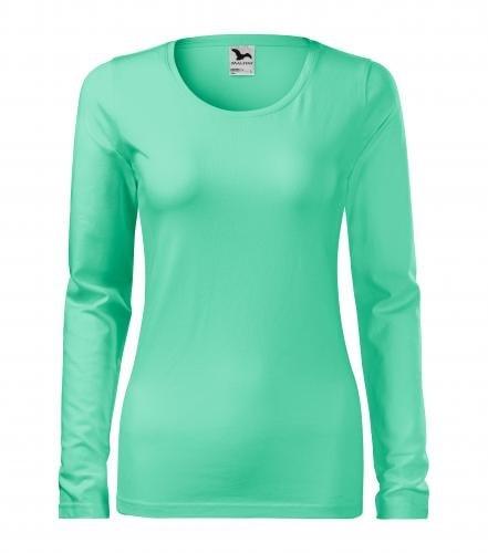 Adler Dámske tričko s dlhým rukávom Slim - Mátová | L