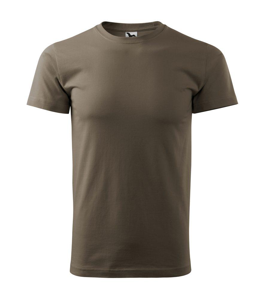 Adler Pánske tričko Basic - Army | S