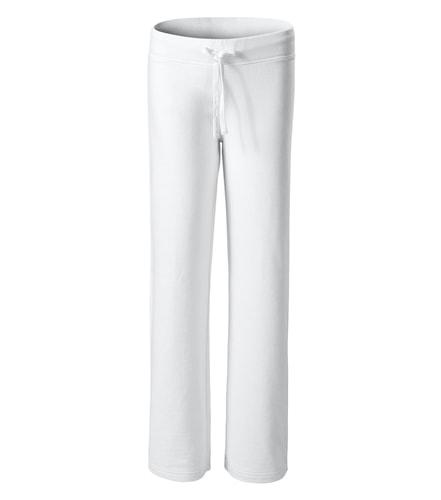 Adler Dámske tepláky Comfort - Bílá | XL