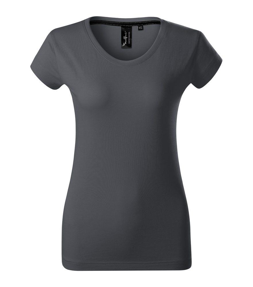 Adler Dámske tričko Malfini Exclusive - Světlá antracitová | L
