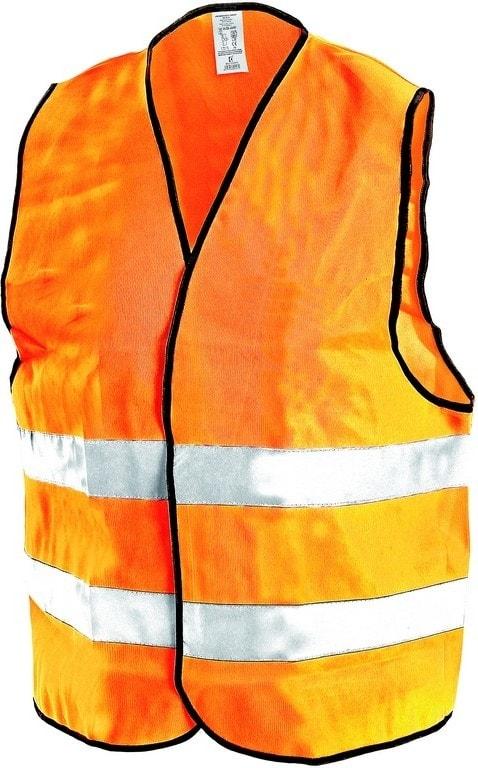 Canis Reflexná vesta GUSTAV - Oranžová | L/XL